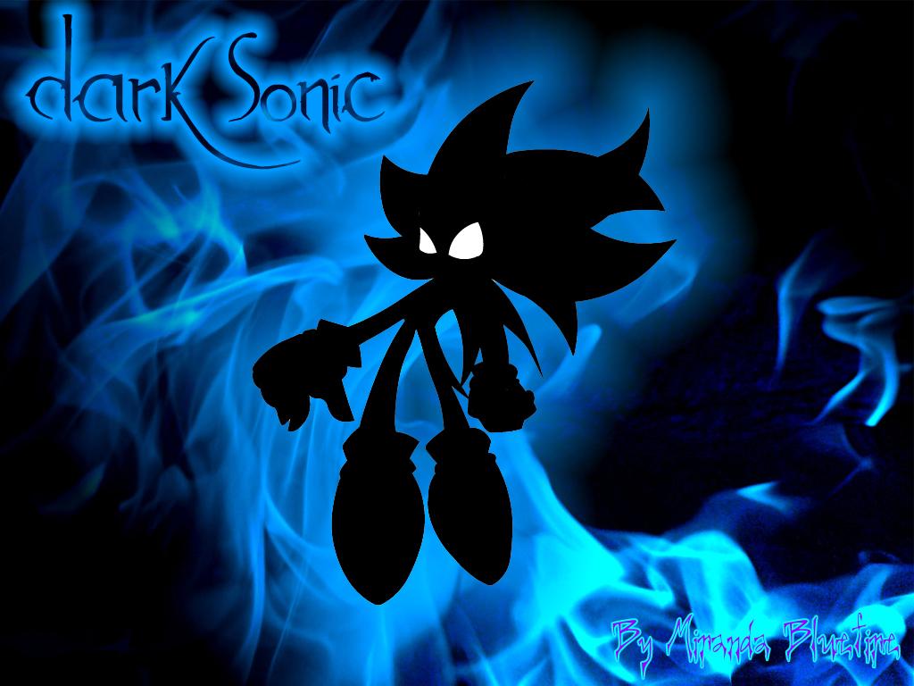 Dark Sonic Wallpaper By Miranda The Ice Fox