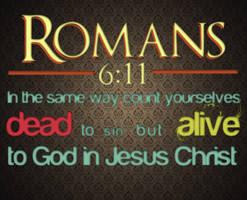 Romans 6:11 by Blugi