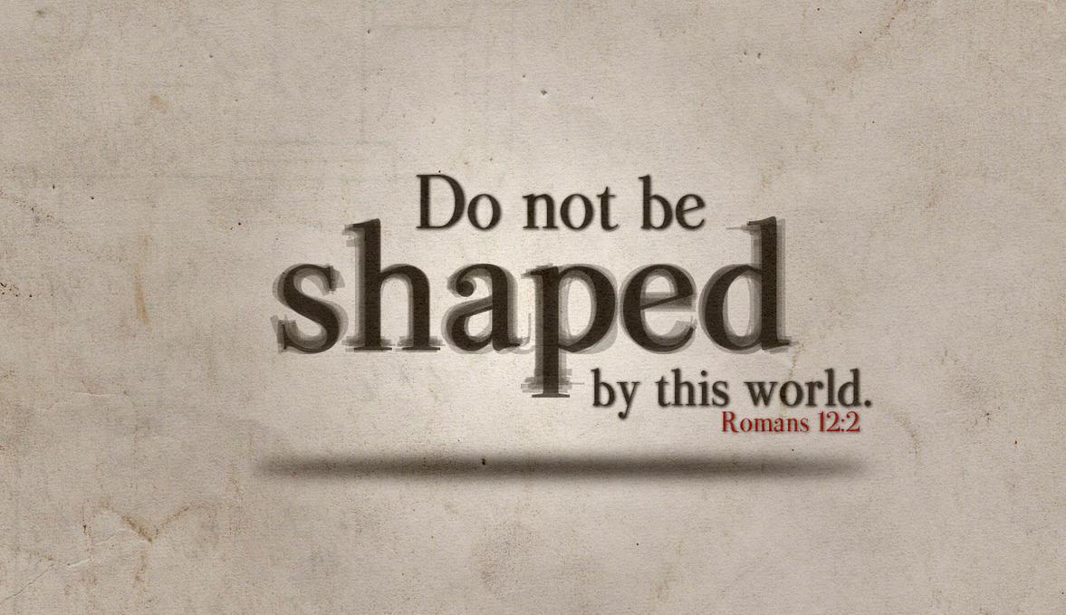 Romans 12:2 by Blugi