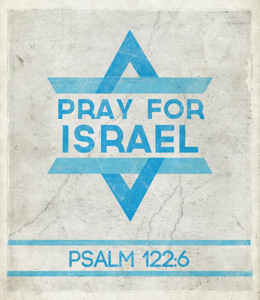 Pray for Israel by Blugi