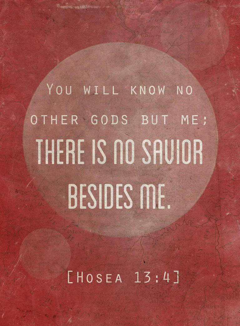 Hosea 13:4 by Blugi