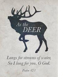 As the Deer by Blugi