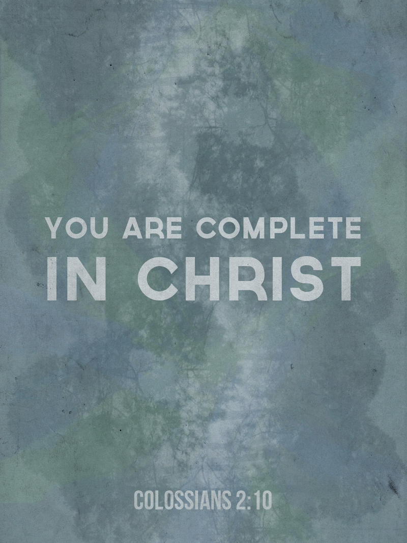 Complete in Christ by Blugi