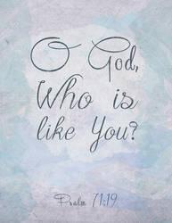 None like God by Blugi