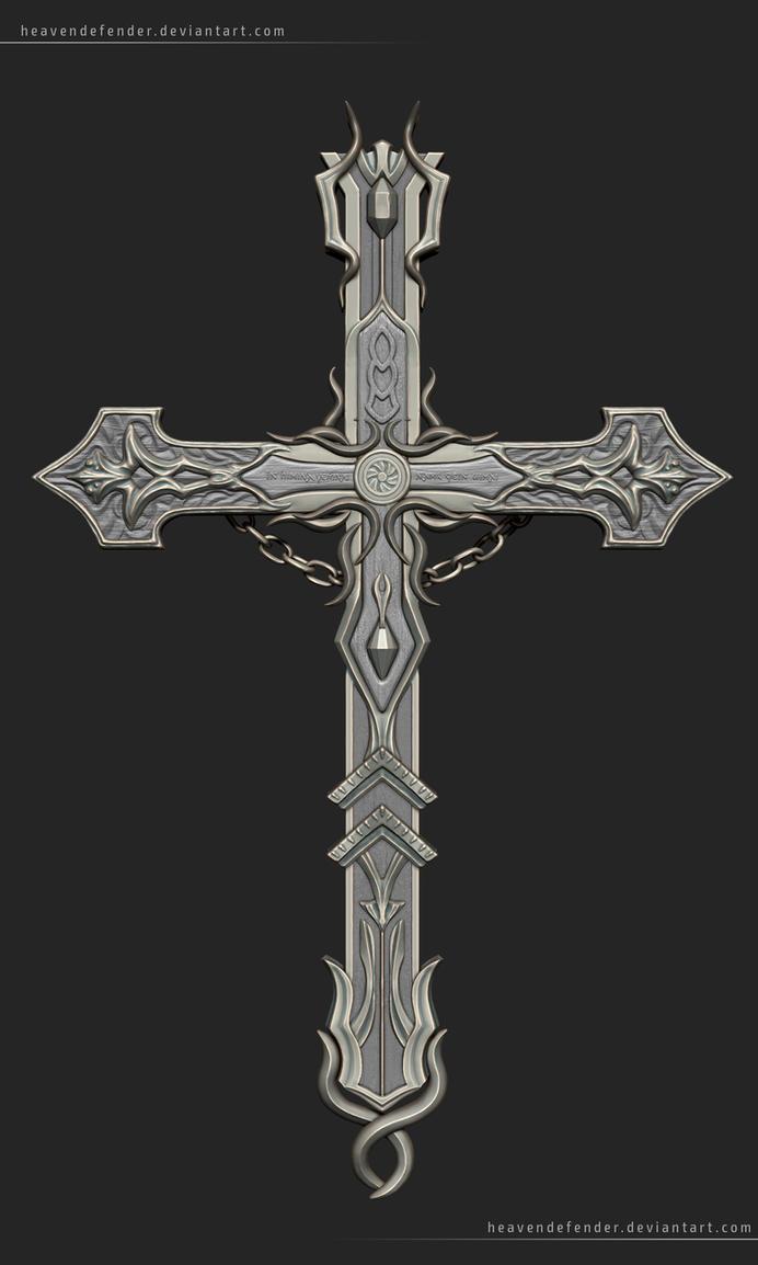 Tarot's cross Final (High resolution) by HeavenDefender