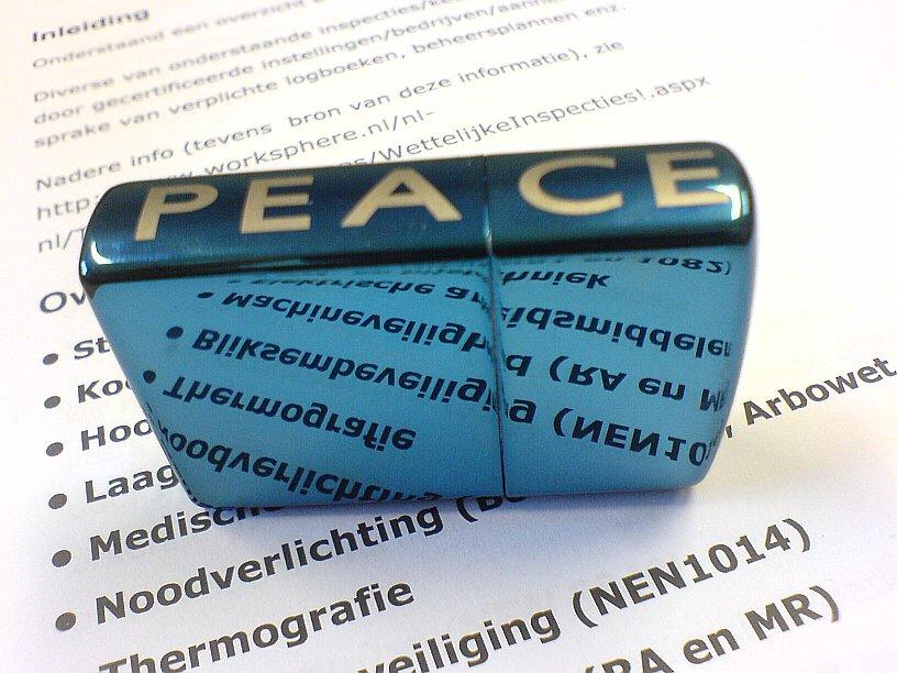 Reflect on Peace by Skyer