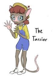 Selling character $10/1000 (The Tarsier) by Dari-Draws