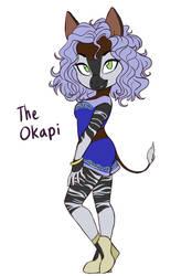 Kasella (The Okapi) by Dari-Draws