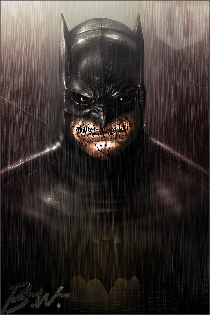 Bruce Wayne By Xhxx On Deviantart