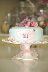 21st cake by ZaLita