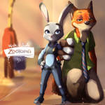 [ZOOTOPIA] nick and judy
