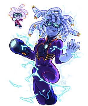 [sketching] Cyborg Cookie