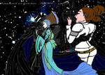 Padme and Vader : TOGETHER by theFrenchJoker