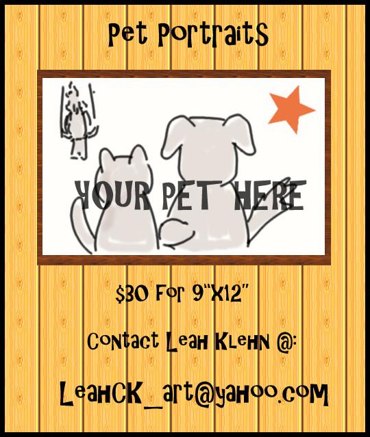 Pet Portrait Ad by LeahCK