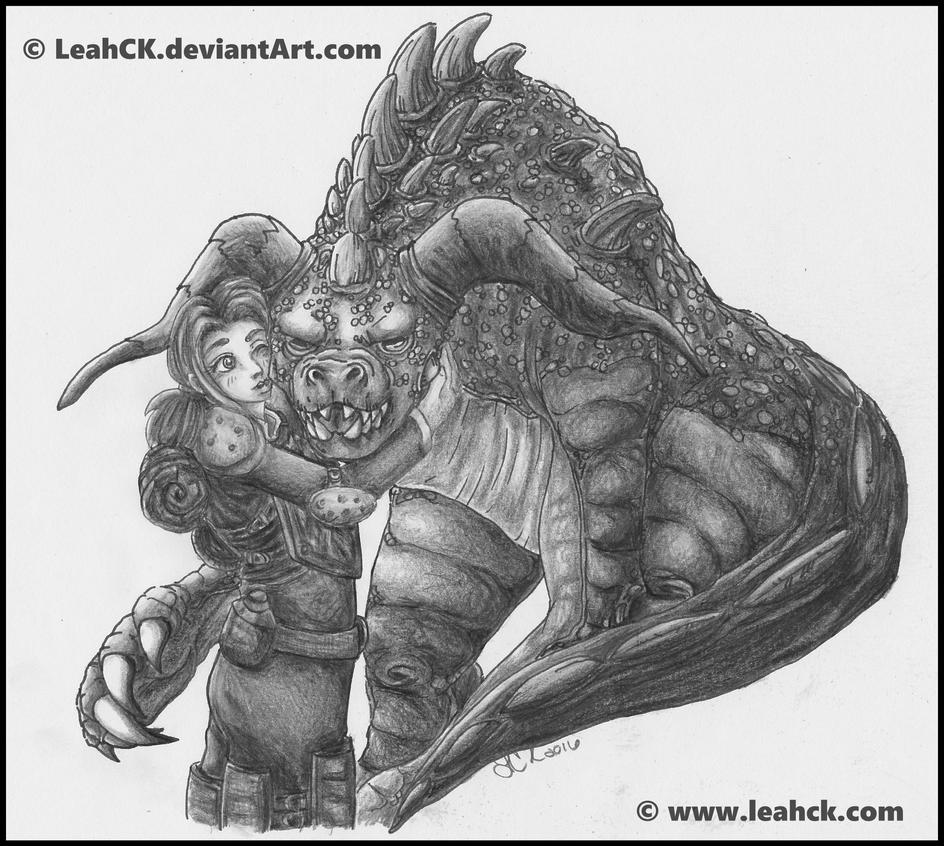 My Ol'Girl - Deathclaw by LeahCK