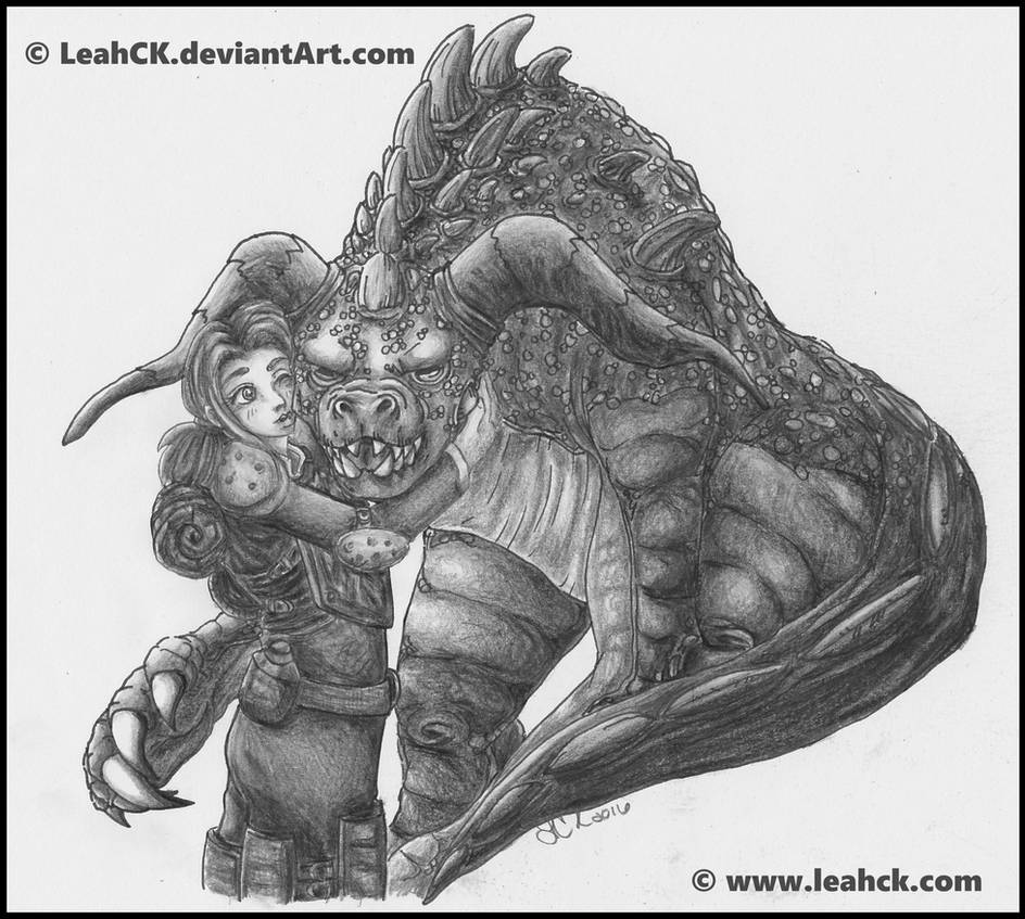My Ol'Girl - Deathclaw by LeahCK