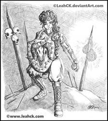 Fierce War Maiden
