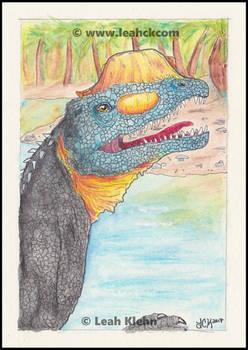 Dilophosaurus Concept Card