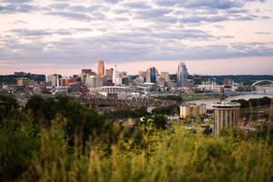 Cincinnati Sunset by KrisVlad