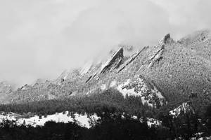 Flatirons Snowstorm by KrisVlad