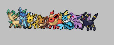 eeveelutions 2 by chechechunin