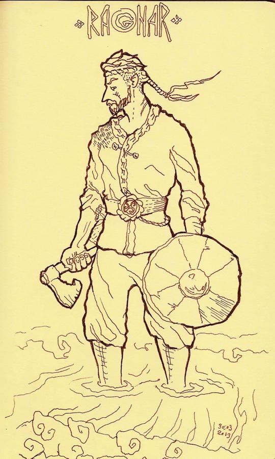 Ragnar by Karangond