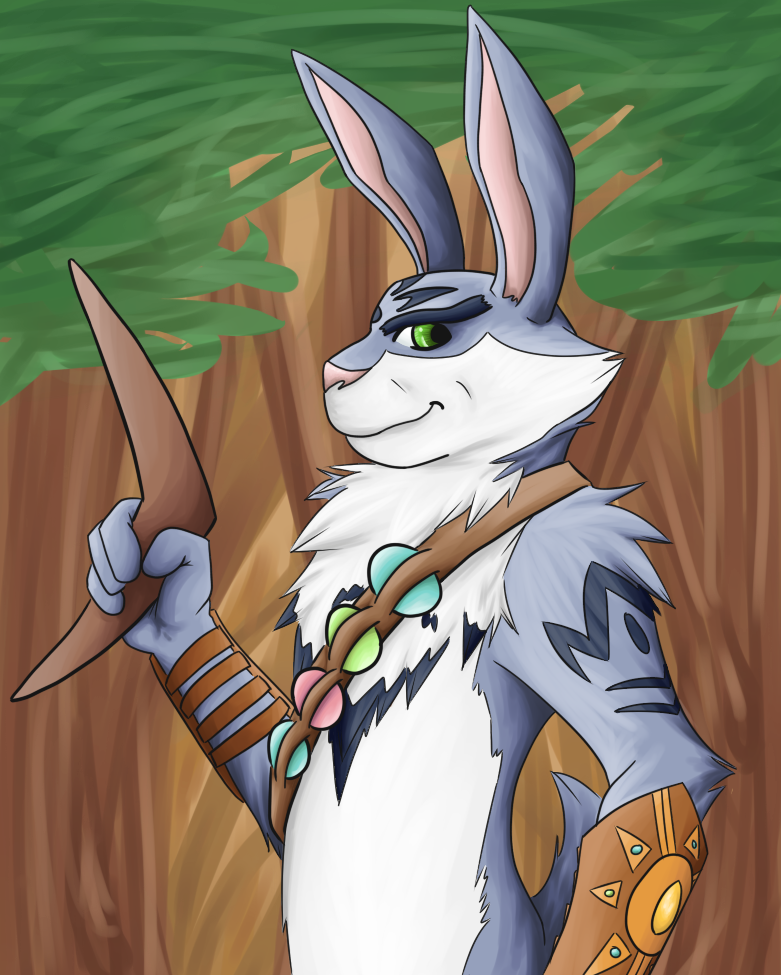 Bunnymund by Count-Von-Sammitchy