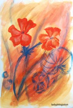 geraniums I