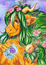 ACEO Soul of Nature by NinaArisava