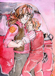 ACEO Welcome Home by NinaArisava