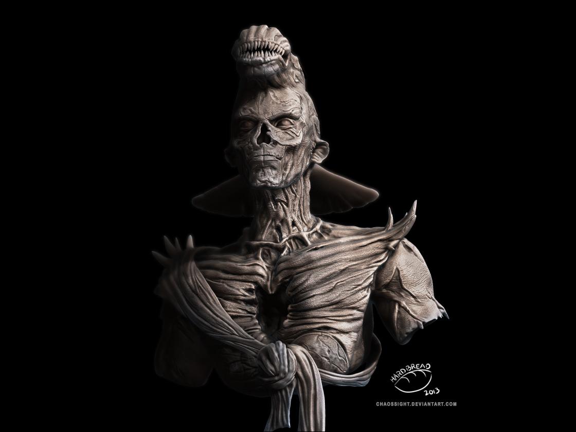 Barlowe Sculpt No. 1 by ChaosSight