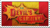 The Devil's Carnival Stamp by TiaLorelei