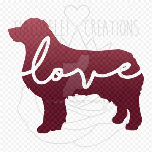 Decal - Aussie Love - Australian Shepherd by TiaLorelei