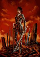 Sword Mistress by defcombeta