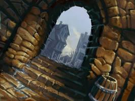 back alley by defcombeta