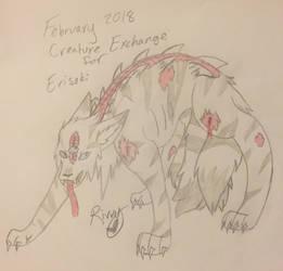 Creature Exchange February 2018 for Erisoki