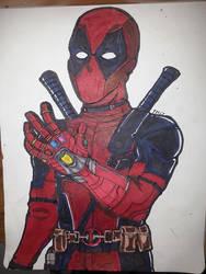 Deadpool (infinity gauntlet,iron man) by LevLeonZack