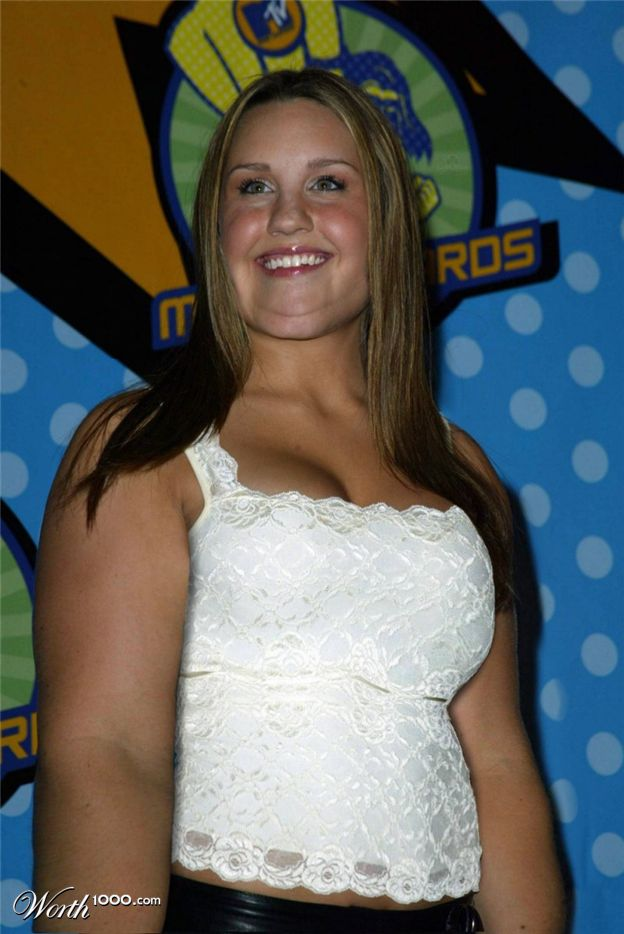 Amanda Bynes Got Fat 9