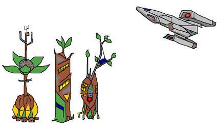 Civilization of Plants Buildings 002 by florapolitis