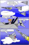 Flora vs F-14 Squadron (Manga/comic) by florapolitis