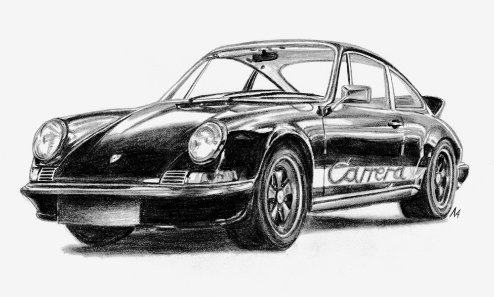 Porsche Carrera RS by M-J-M-A