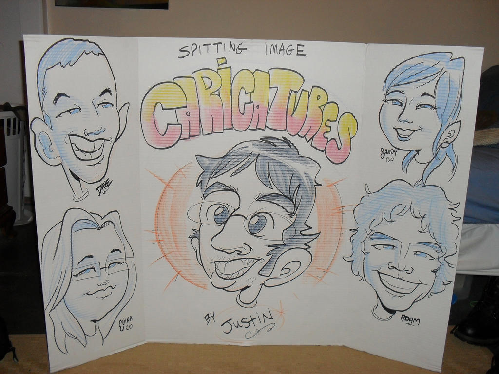Caricature Poster Board