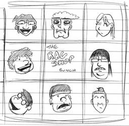 The Ragshop Bunch