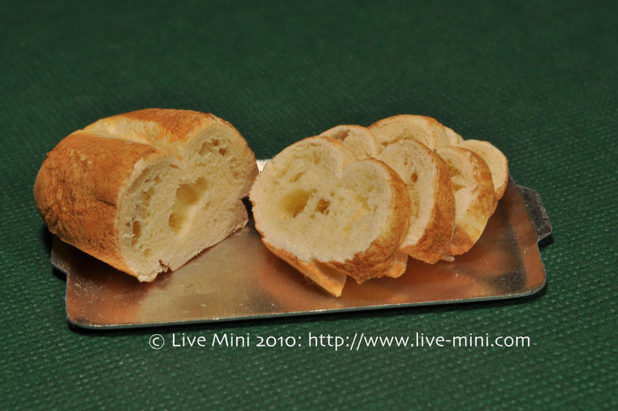 Homemade loaf bread by livemini