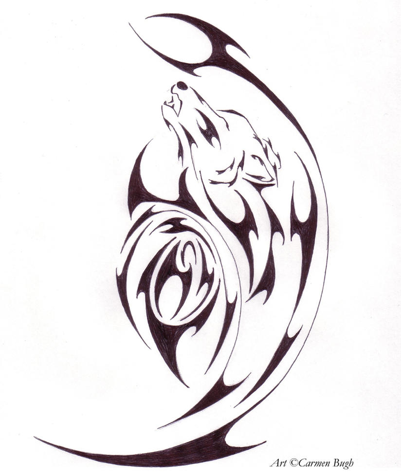 Tribal tattoo by luminous angel on deviantart for Tribal tattoo shops near me