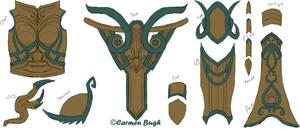 Auriel Armor Template