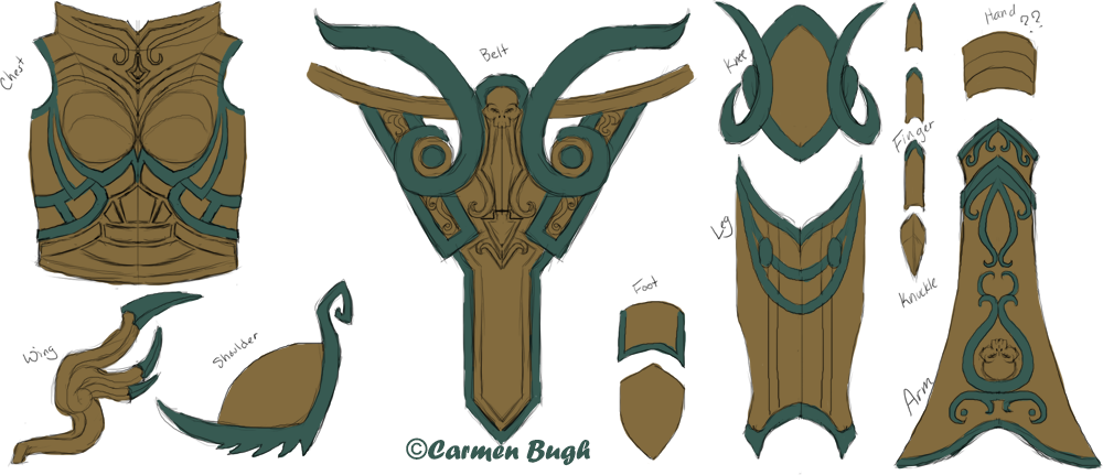 armor template the making of wisby plate armor n7 armour templates