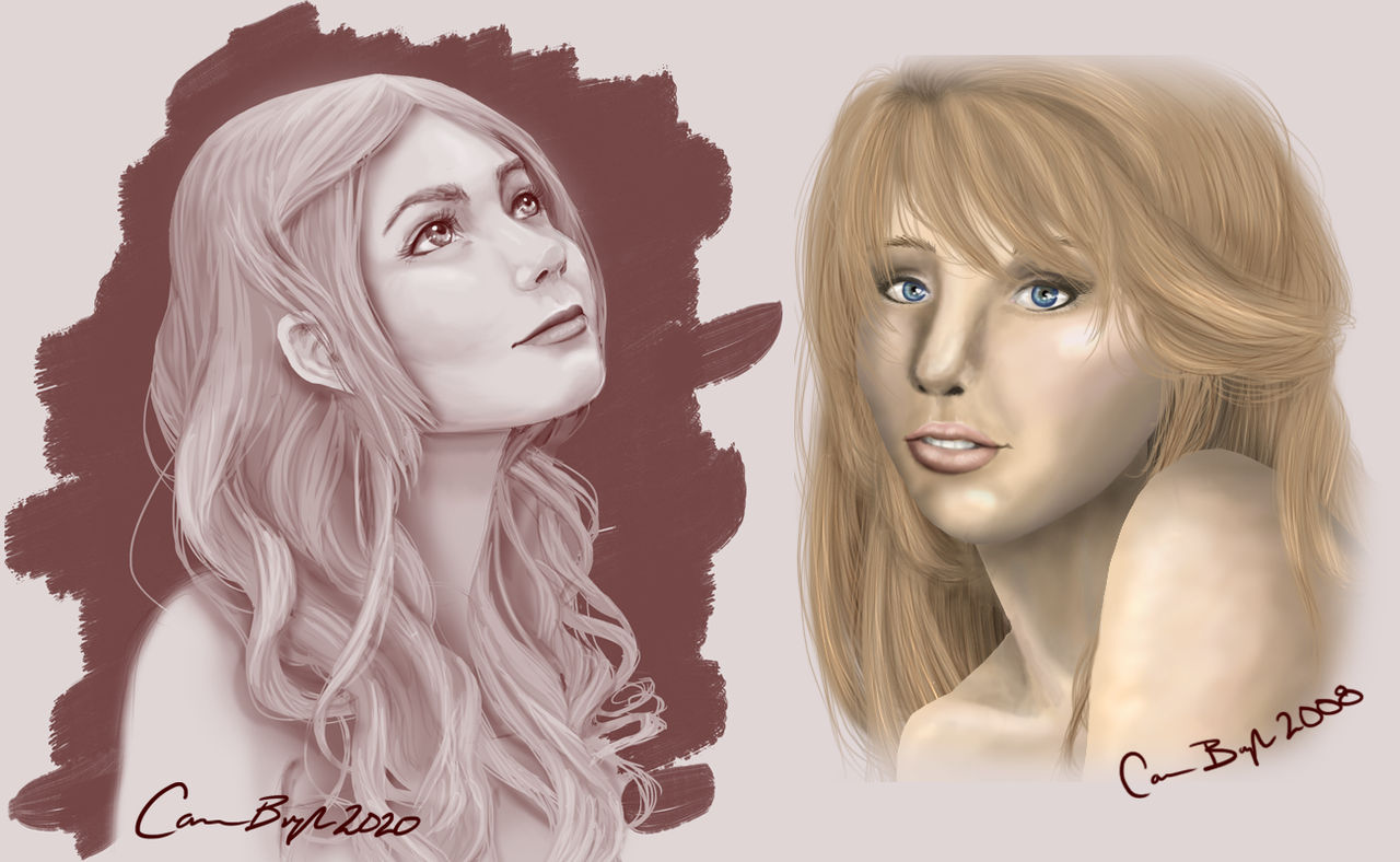 Portrait Comparison 2008 and 2020