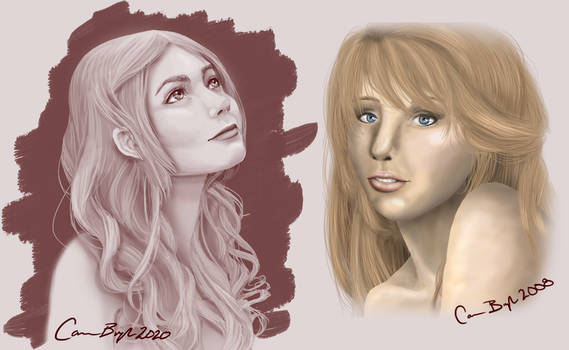 Portrait Comparison 2008 and 2020