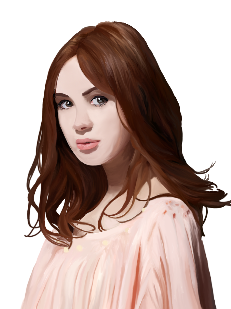 karen gillan by colleen33 on deviantart